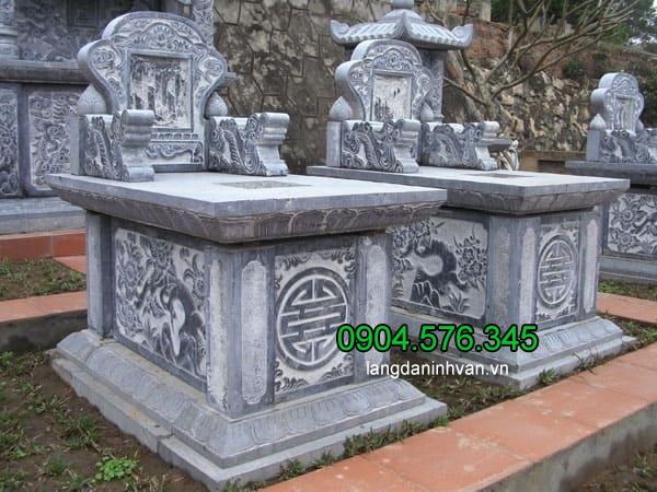 Các mẫu mộ đá xanh Ninh Vân Ninh Bình đẹp nhất - Báo giá mộ đá xanh