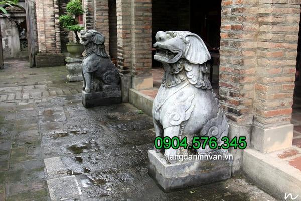 Ý nghĩa của tượng chó đá, nơi bán tượng chó đá phong thủy giá tốt