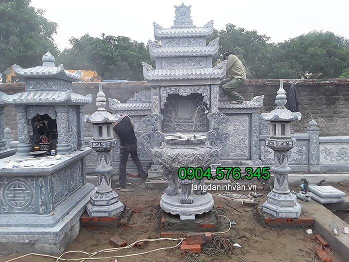 Cơ sở bán lăng mộ đá Ninh Vân Ninh Bình uy tín chất lượng tốt nhất