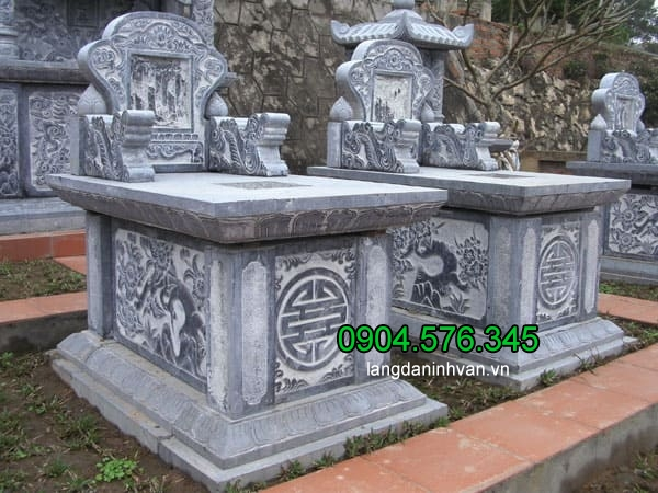 Kích thước xây mộ theo phong thủy