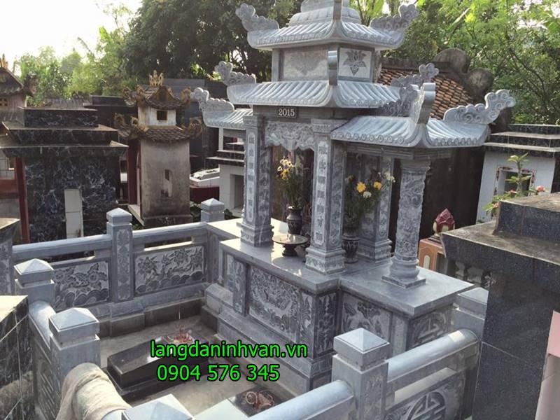 khu lăng mộ đá đơn giản giá rẻ được bán tại hải phòng