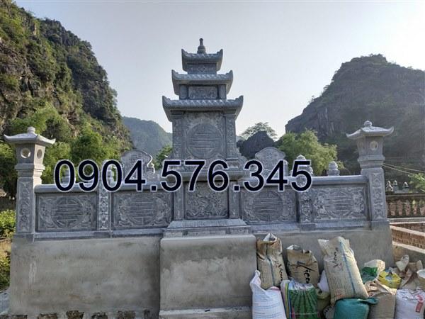 lắp đặt khu lăng mộ đá đẹp tại Tuyên Quang