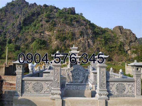 thiết kế và thi công khu lăng mộ đá đẹp giá rẻ tại Tuyên Quang