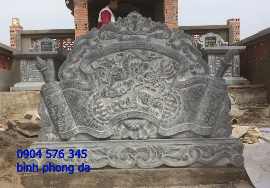 mẫu tắc môn cuốn thư, bình phong đá được đặt tại khu lăng mộ - 004
