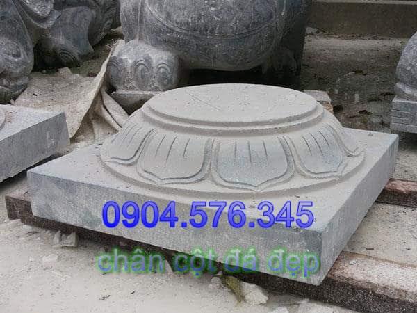 mẫu chân cột bằng đá