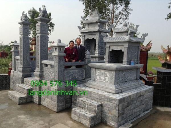 khu lăng mộ tổ đẹp được lắp đặt tại long an