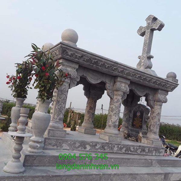 Khu lăng mộ công giáo đẹp hiện đại đơn giản giá rẻ tại Vĩnh Long