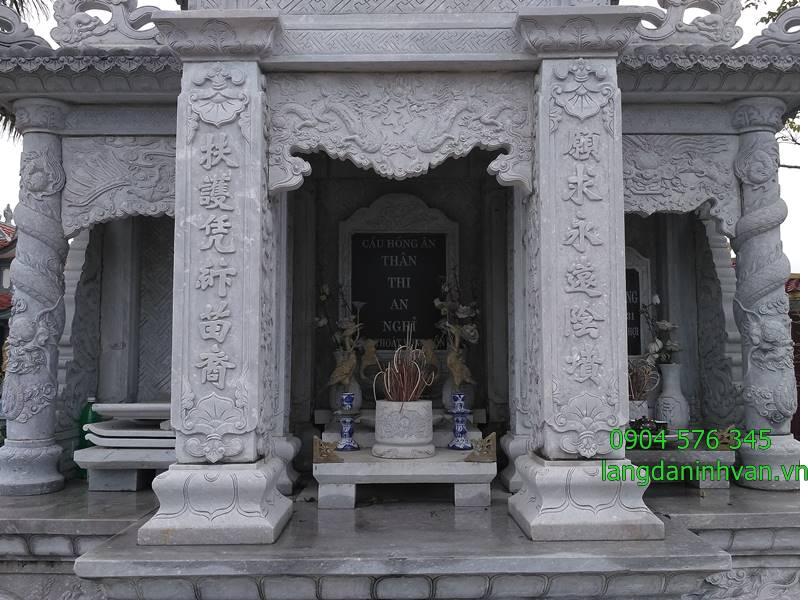 lăng thờ bằng đá đẹp