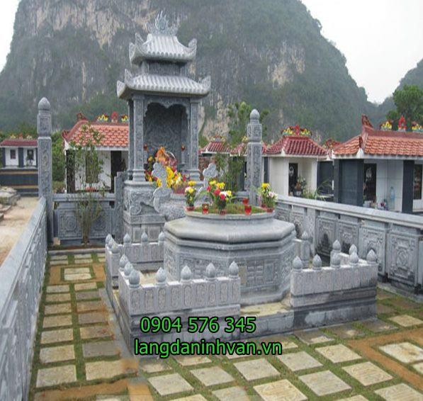 khu lăng mộ tộ bằng đá tại quảng ngãi