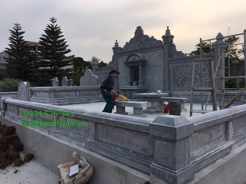 Những khu lăng mộ gia tiên bằng đá đẹp giá rẻ bán tại quảng nam