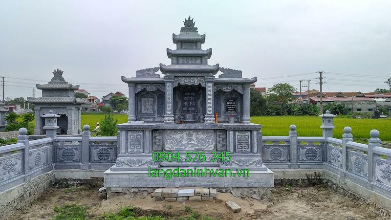 khu lăng mộ chi họ bằng đá được lắp đặt tại tây ninh