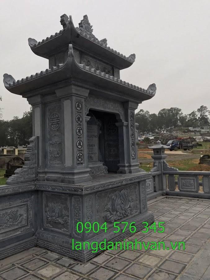 nghĩa trang khu lăng mộ bằng đá đẹp