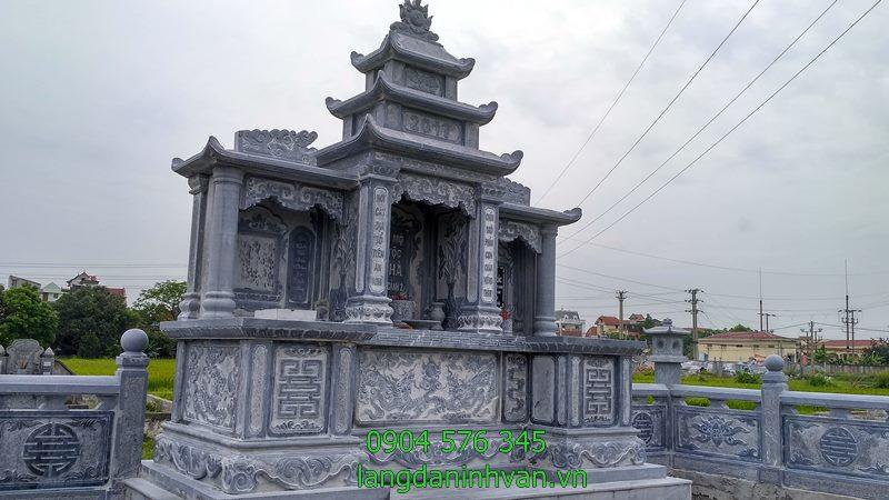 lăng thờ chung khu lăng mộ đá dòng họ tại tây ninh
