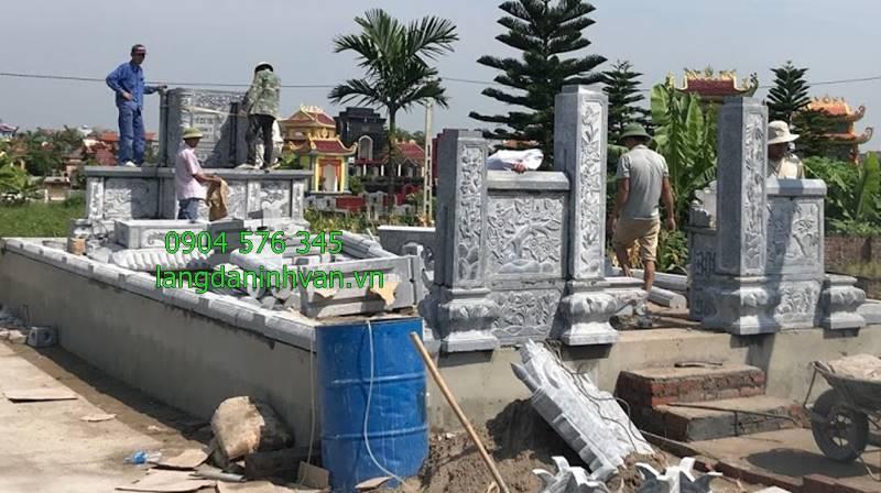 lắp đặt khu lăng mộ đá tại huyện thanh miện tỉnh hải dương
