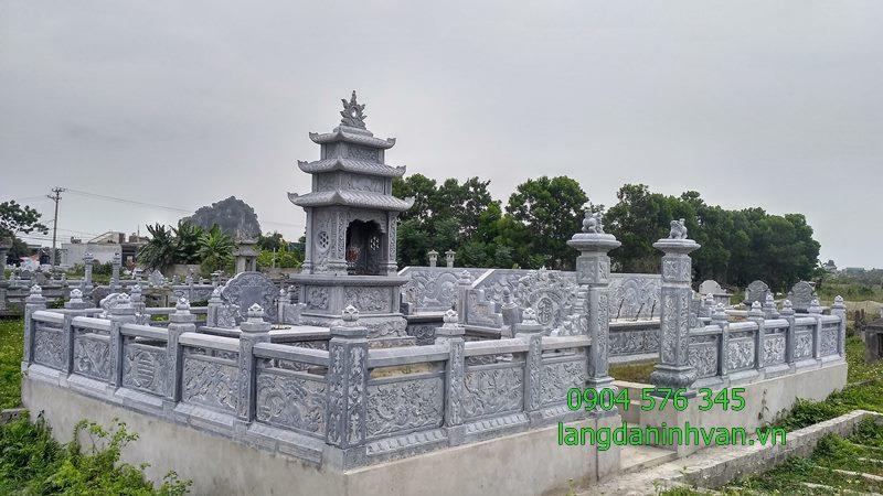 Khu lăng mộ tháp bằng đá đẹp để cất hài cốt giá tốt tại Sài Gòn