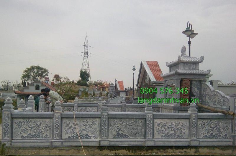 Mẫu khu lăng mộ đá - lăng thờ đá đẹp nhất năm 2019