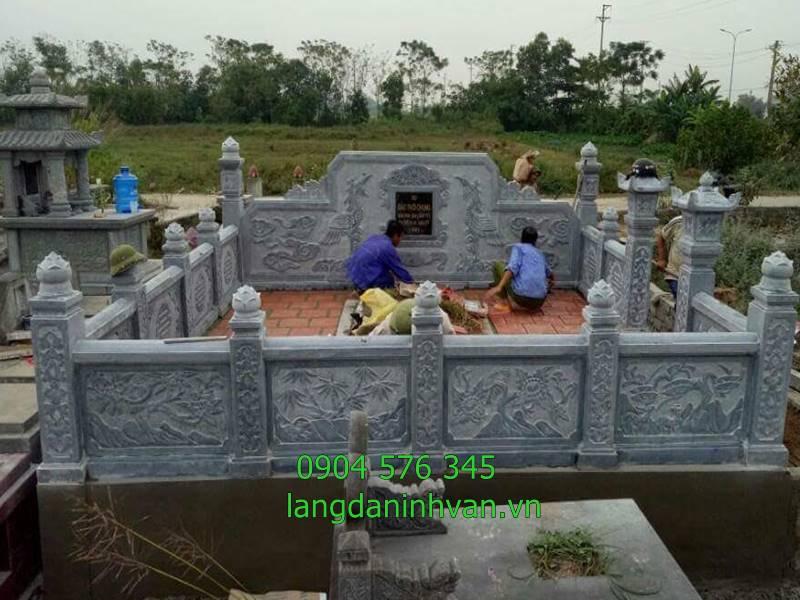 lắp đặt khu lăng mộ tổ tại nghệ an