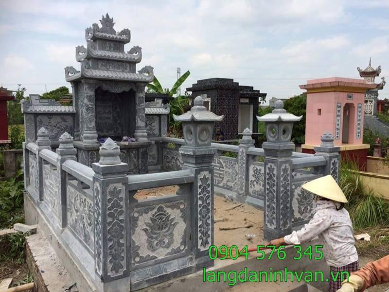khu lăng mộ bằng đá đẹp
