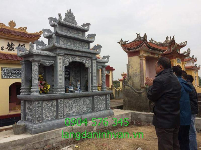 Mẫu lăng mộ gia đình bằng đá đẹp nhất 2019