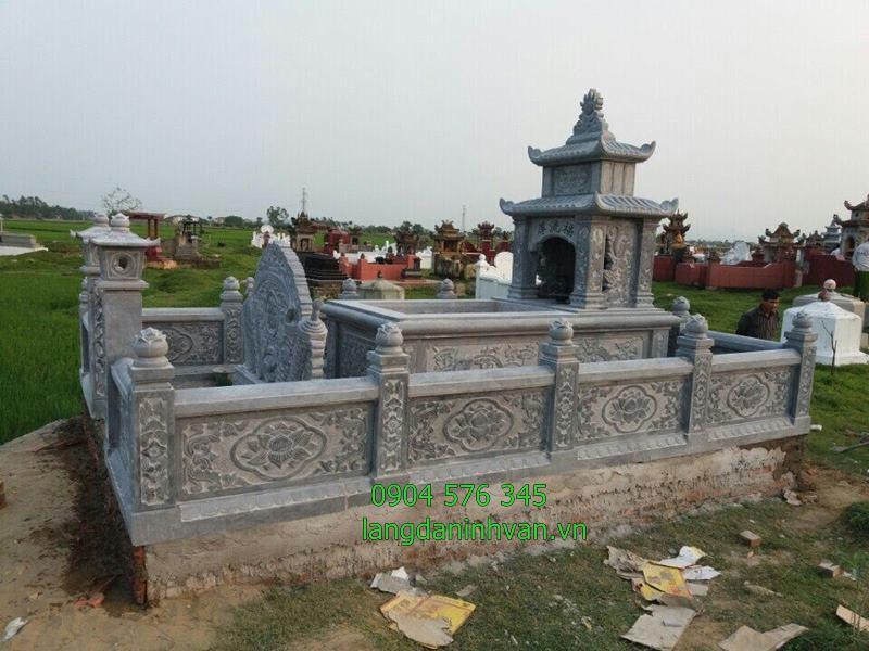 những mẫu khu lăng mộ tổ đẹp nhất