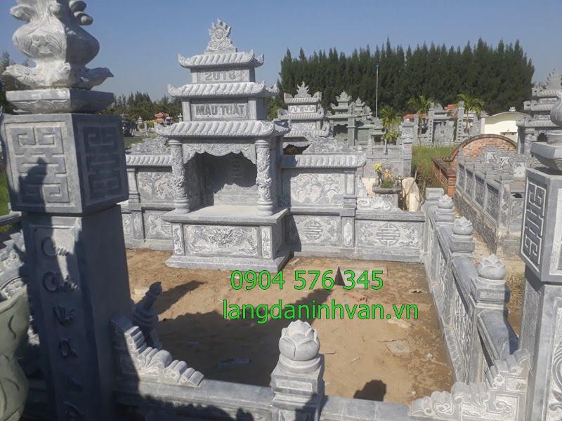 Khu lăng mộ đá đẹp tại Hải Dương 2019