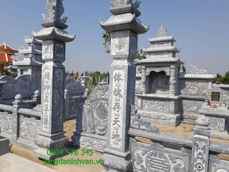 Tổng hợp các khu lăng mộ đá đẹp nhất được lắp đặt tại Hà Nội 2019