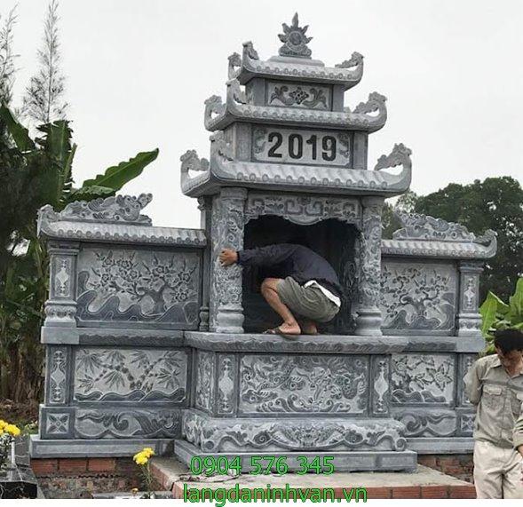 khu lăng mộ đá đẹp tại lại châu
