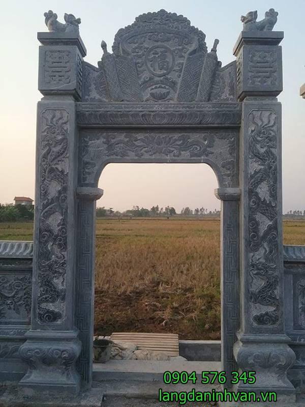cổng nhà thờ họ đẹp và đơn giản