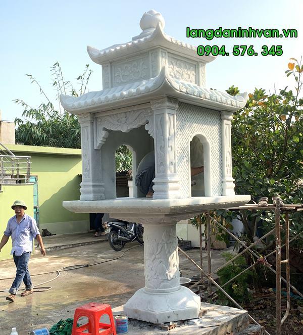 bàn thờ thiên bằng đá đẹp được lắp đặt tại hà nội