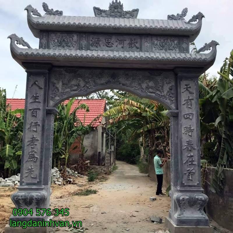 cổng nhà thờ tộc đơn giản giá rẻ