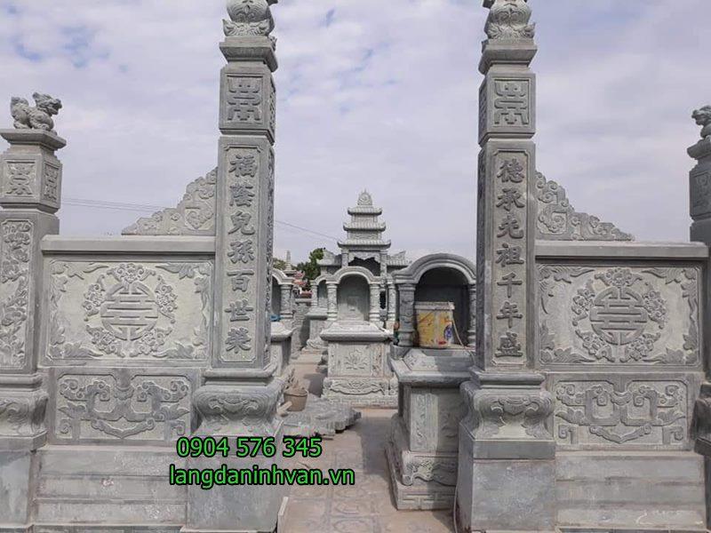 cổng đá khu lăng mộ đẹp tại tuyên quang 02