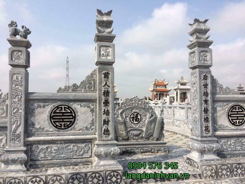 cổng đá khu lăng mộ đẹp -03