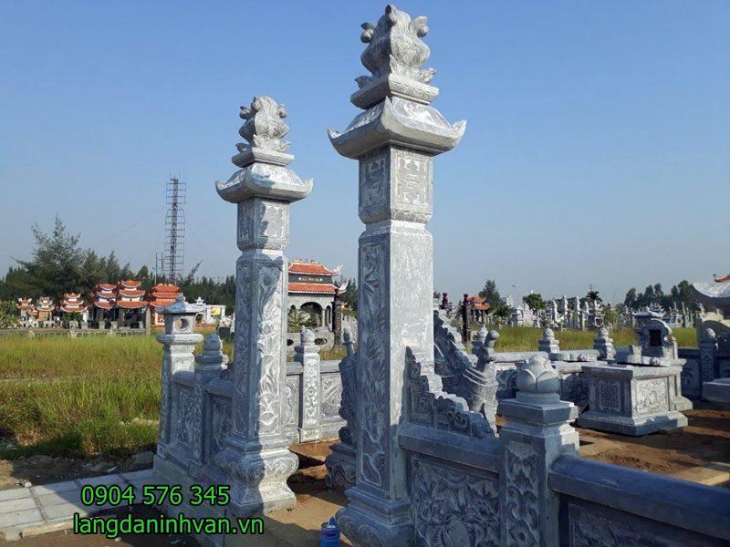 Mẫu cổng đá khu lăng mộ đẹp nhất 09