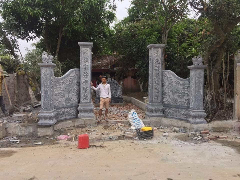 lắp đặt cổng nhà thờ họ nguyễn tại phú yên