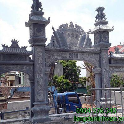 cổng nhà thờ bằng đá xanh đẹp - 63