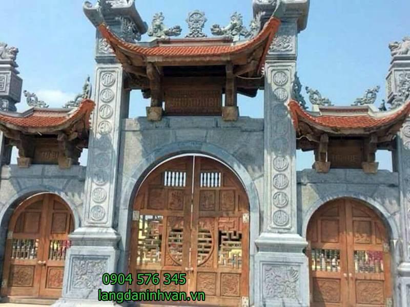 cổng chùa bằng đá đẹp - 64
