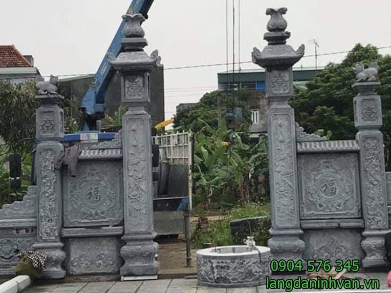 cổng đá đẹp giá rẻ- 74