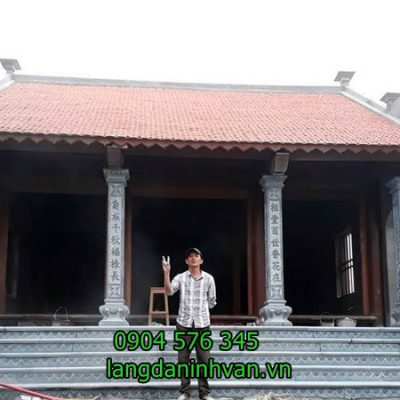 Lắp đặt hoàn thiện nhà thờ họ Nguyễn tại Bắc Giang