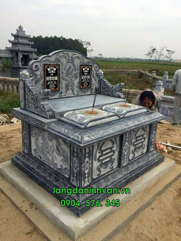 mộ hậu bành bằng đá đẹp 018