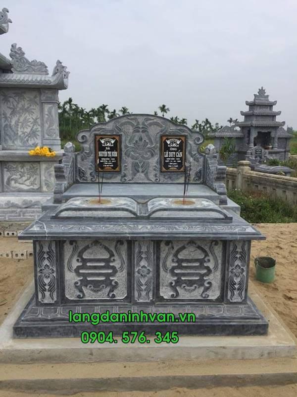 mộ hậu bành đôi bằng đá tự nhiên 019