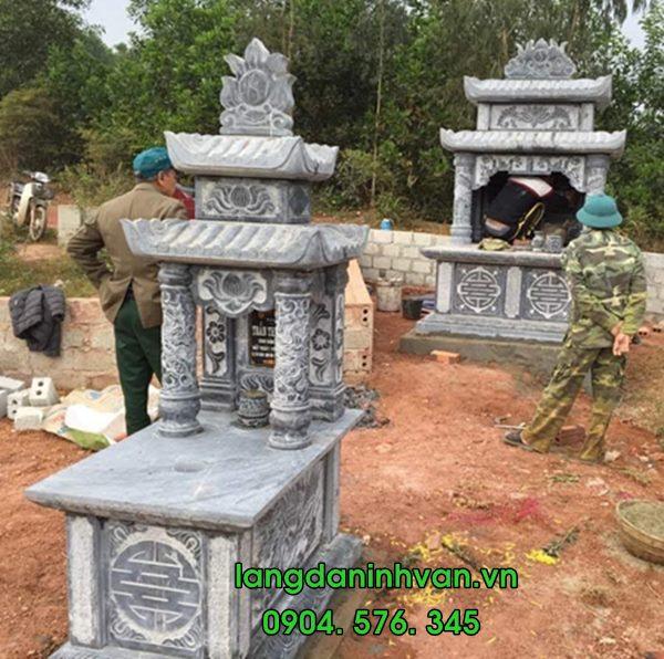 mộ đá tụ nhiên đẹp 021