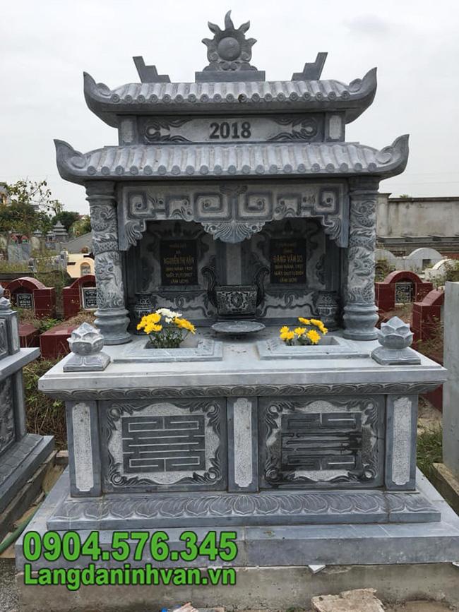 Mẫu mộ đá ninh bình đẹp