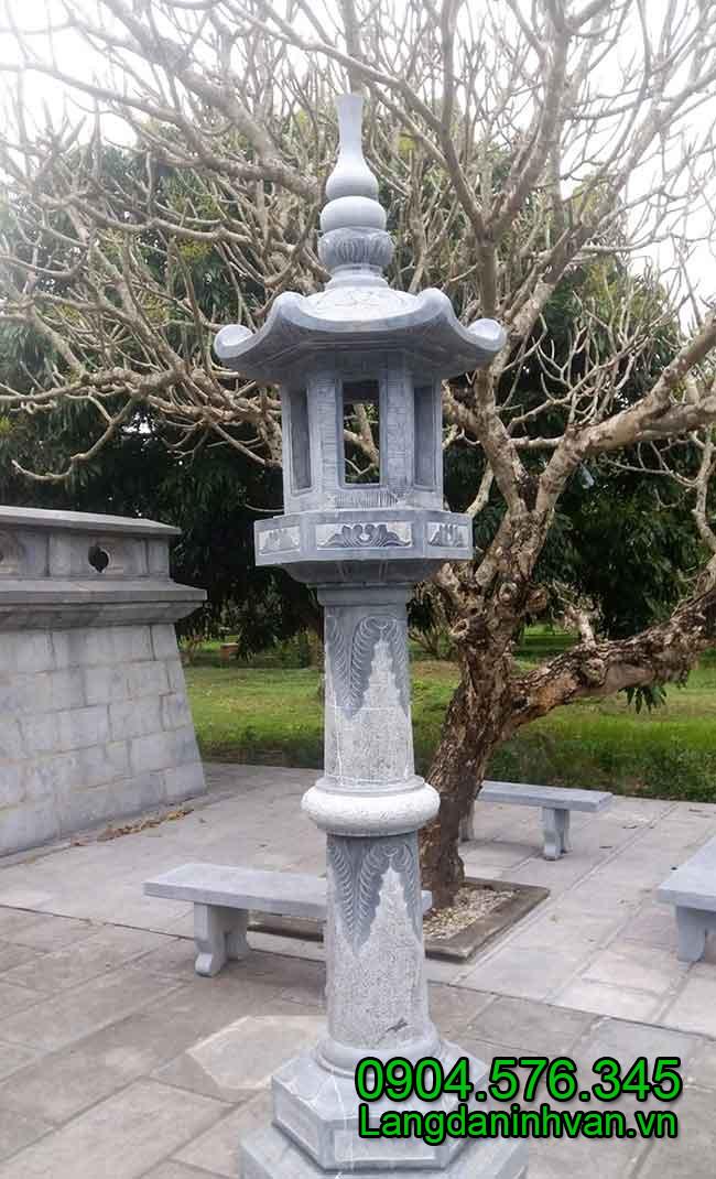 Đèn thờ đá - Vật Phẩm Công đức, cung tiến vào Chùa, Đình, Đền, Nhờ thờ họ đàu năm