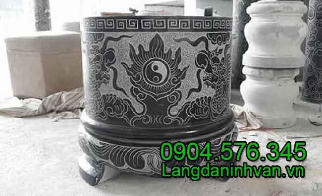 Mẫu bát hương đá nhỏ đẹp, chất lượng cao của Đá mỹ nghệ Ninh Vân