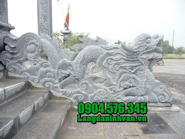 Rồng bằng đá - Vật Phẩm Công đức, cung tiến vào Chùa, Đình, Đền, Nhờ thờ họ đàu năm