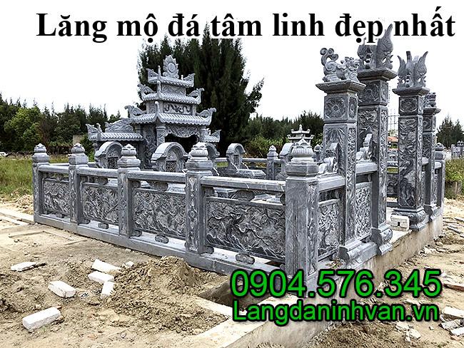 Lăng mộ đá tâm linh đẹp nhất