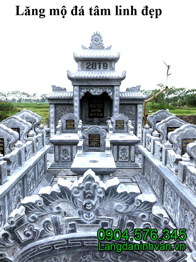 Lăng mộ đá tâm linh đẹp