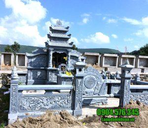 Các mẫu lăng mộ đá đẹp nhất được chế tác tại Ninh Vân Ninh Bình