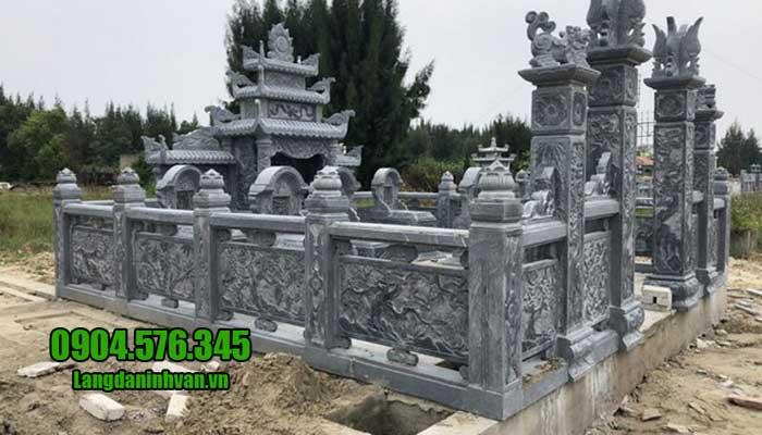 Mẫu lăng mộ bằng đá xanh đẹp nhất