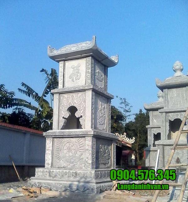 Mãu mộ tháp bằng đá đẹp nhất